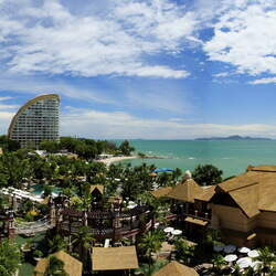 Centara grand mirage beach resort pattaya   water park panorama